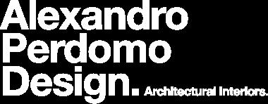 Alexandro Perdomo Design
